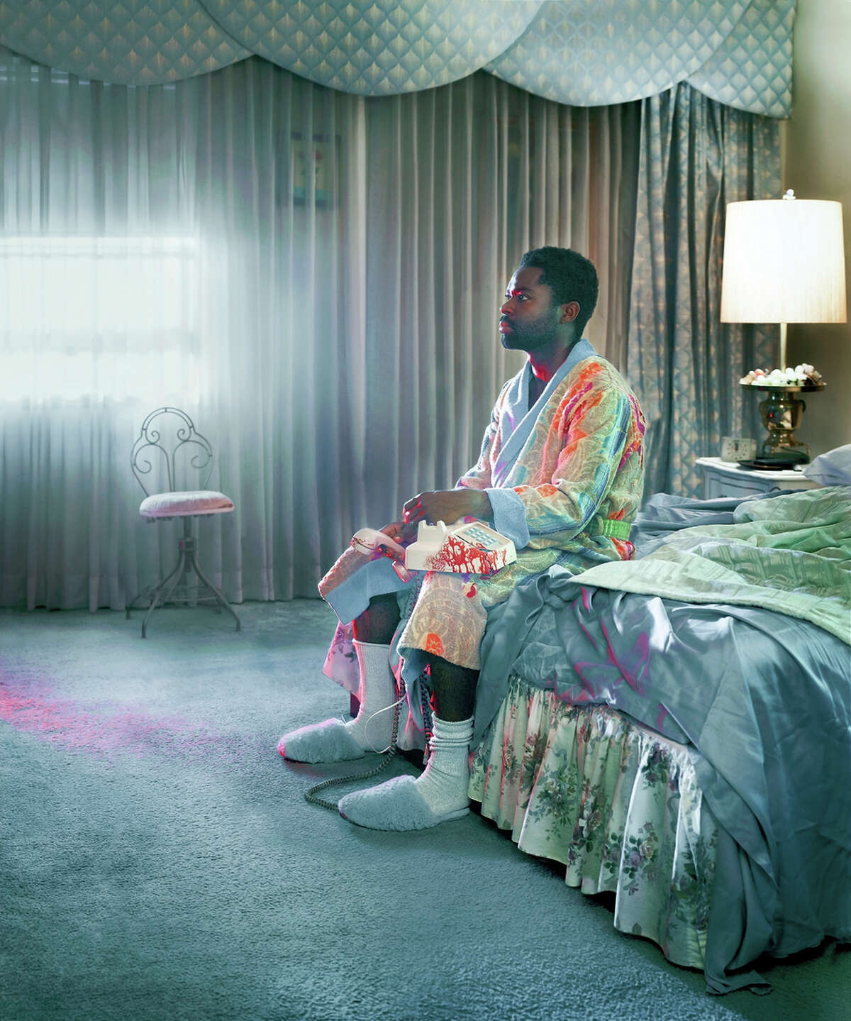 """As Peter, actor David Oyelowo is alone onscreen for 90 minutes, riding a roller coaster of emotions in """"Nightingale."""""""