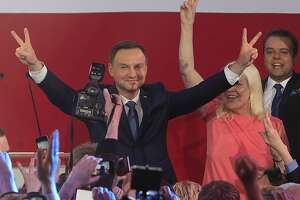 Polish President Komorowski concedes to Duda in election - Photo