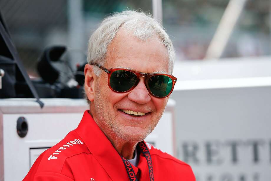 INDIANAPOLIS, IN - MAY 24: David Letterman attends the Indy 500 on May 23, 2015 in Indianapolis, Indiana. (Photo by Michael Hickey/Getty Images) Photo: Michael Hickey, Getty Images