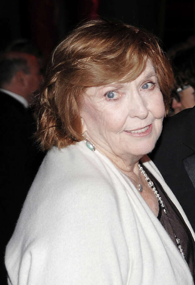 FILE - In this Nov. 12, 2008, file photo, comedian Anne Meara attends the Museum of the Moving Image Salute to Ben Stiller in New York. Meara, whose comic work with husband Jerry Stiller helped launch a 60-year career in film and TV, has died. She was 85. (AP Photo/Evan Agostini, File) Photo: Evan Agostini, STF / ap