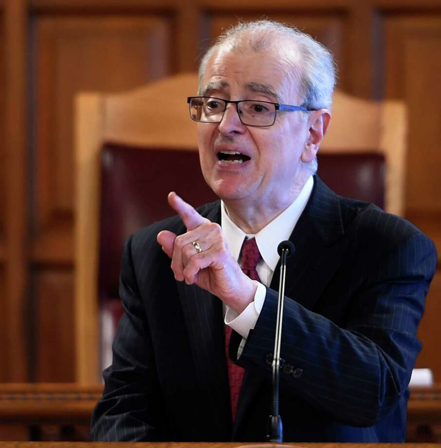 Chief Judge of the State of New York Court of Appeals Jonathan Lippman announces major reforms affecting New York State's legal community during the Law Day gathering at the Court of Appeals building Tuesday May 5, 2015 in Albany, N.Y.    (Skip Dickstein/Times Union) Photo: SKIP DICKSTEIN / 00031708A