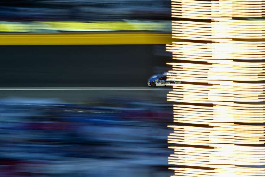 CHARLOTTE, NC - MAY 24: Dale Earnhardt Jr., driver of the #88 Nationwide Chevrolet, races during the NASCAR Sprint Cup Series Coca-Cola 600 at Charlotte Motor Speedway on May 24, 2015 in Charlotte, North Carolina.  (Photo by Streeter Lecka/Getty Images) Photo: Streeter Lecka, Getty Images