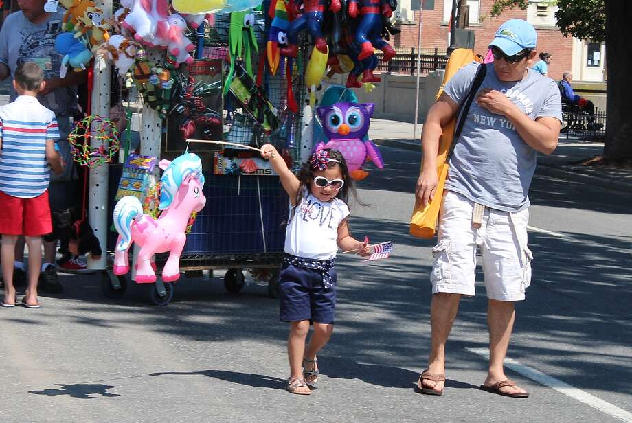 The Danbury Memorial Day marched through downtown Danbury on May 25, 2015. Were you SEEN? Photo: Nuria Ryan
