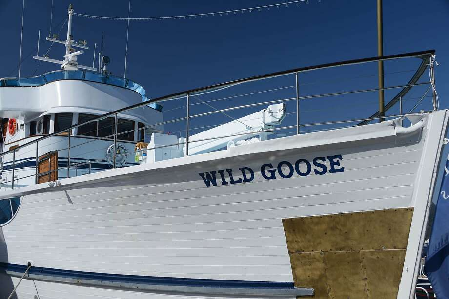John Wayne's pride and joy was the Wild Goose, a 136-foot converted World War II minesweeper that was made into his private yacht. Photo: Bill Fink, Special To The Chronicle