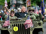 Danbury, Conn. celebrates Memorial Day with a parade downtown followed by a memorial service to honor those that died in service to country, Monday, May 25, 2015.