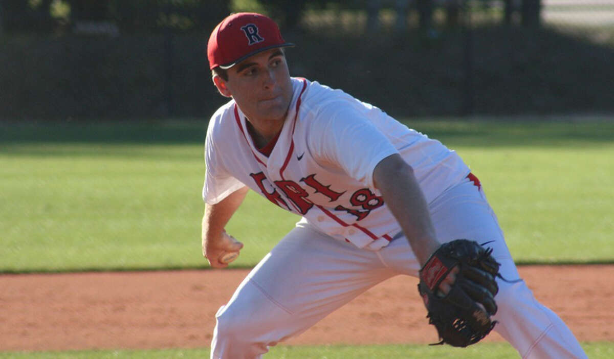 Sean Conroy, a Shenendehowa graduate, pitches for RPI. (RPI sports information)