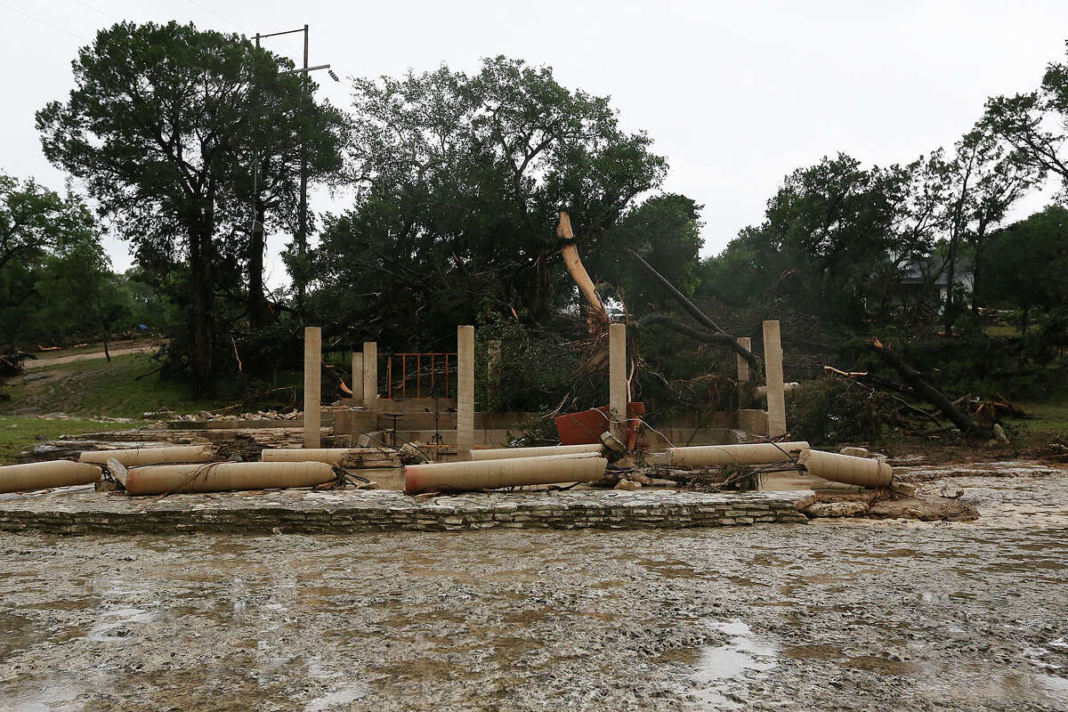 2.70 homes in Hays County were destroyed and 1,400 homes and properties sustained damage from the storms. More than 1,000 people were displaced by the damage, the San Antonio Express-News reported Monday.