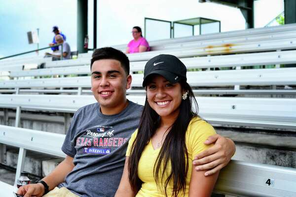 These San Antonio residents watched as the Missions took on the Frisco RoughRiders in a baseball game Monday May 25, 2015.