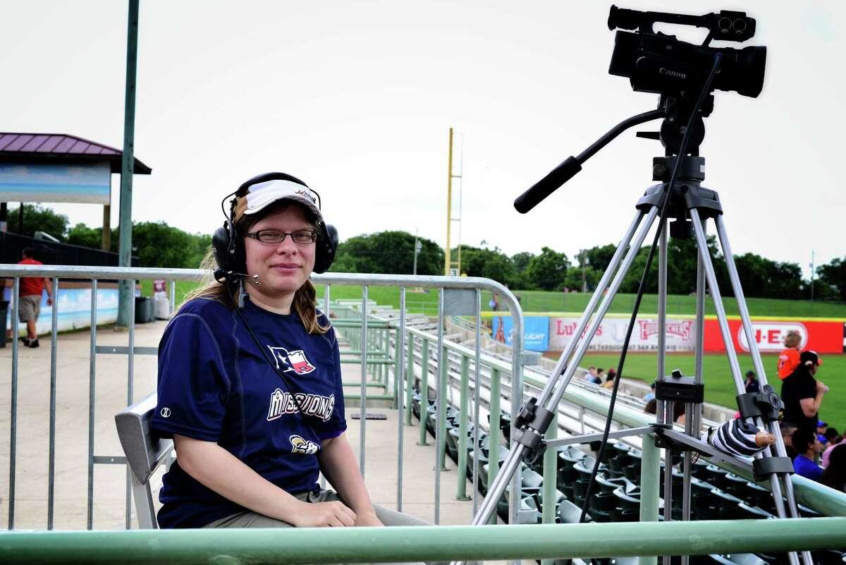 Production team members (film crew/camera operators)- San Antonio Missions