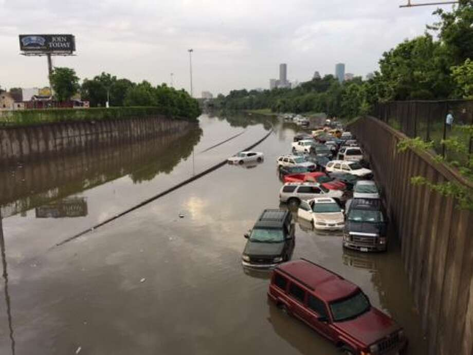 No. 1: FloodTotal Houston GDP at risk: $7.83 billionPercent of Houston's total risk: 24.74 percentAccording to: Lloyd's City Risk Index 2015-2025 Photo: Houston Chronicle