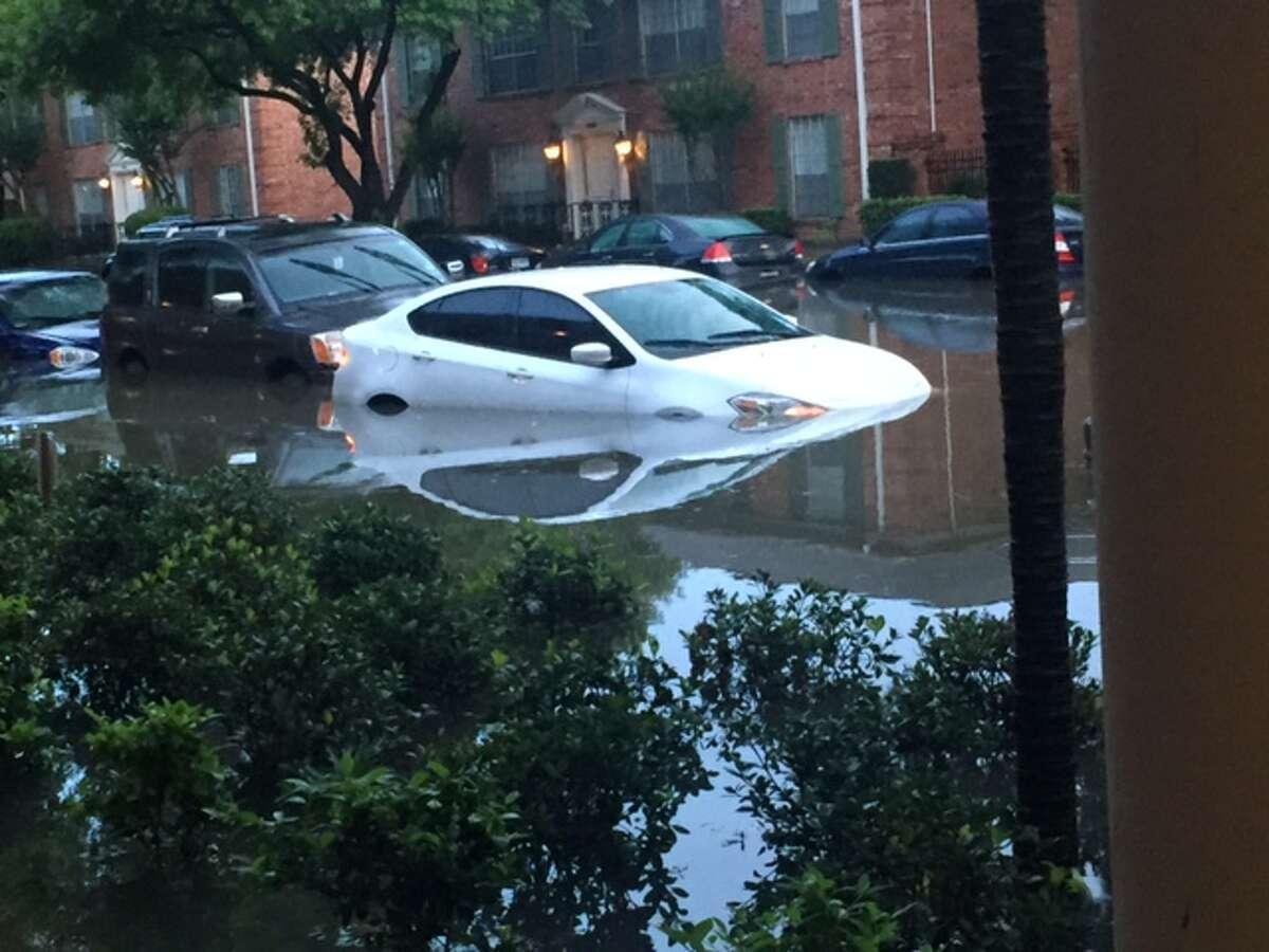 Flooding near the Meyerland area. May 26, 2015