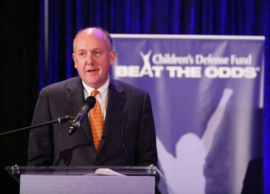Dr. Charles Fraser speaks at the Children's Defense Fund 2015 Beat the Odds Luncheon. Photo: Jon Shapley, Staff / © 2015 Houston Chronicle