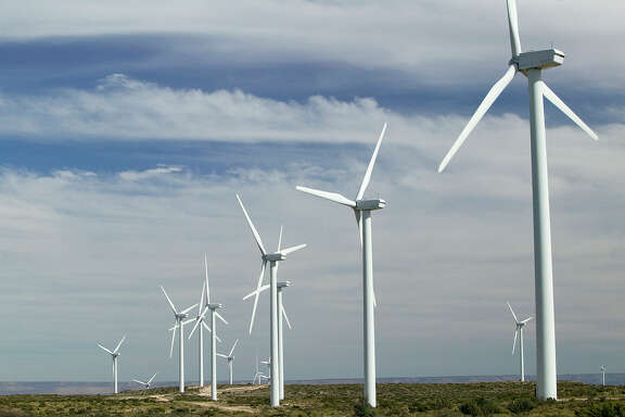 CPS' Desert Sky wind farm in West Texas is one of several wind farmsthat supply power to CPS.