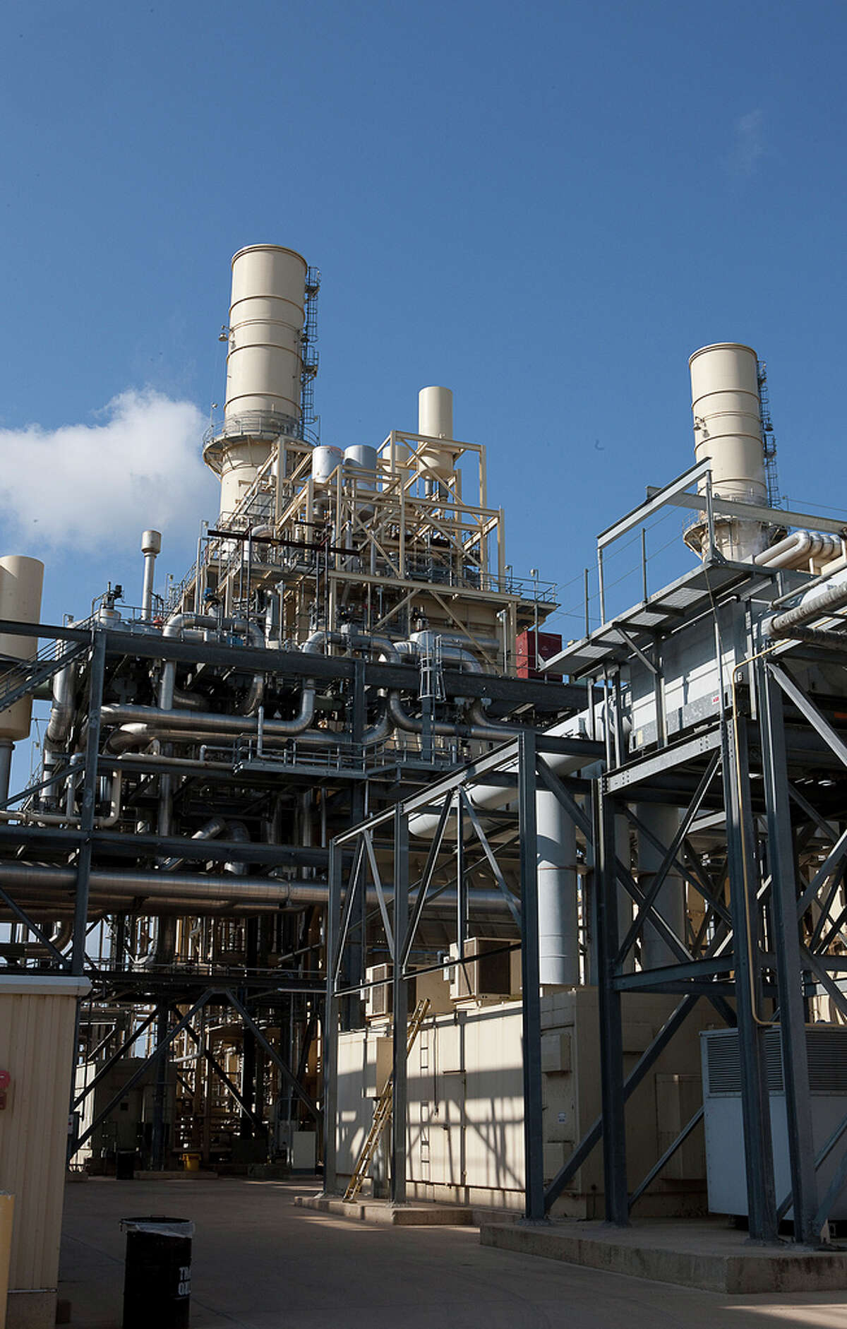 CPS' Braunig plant is fired by natural gas, which supplies about one-fifth of metro San Antonio's electricity.