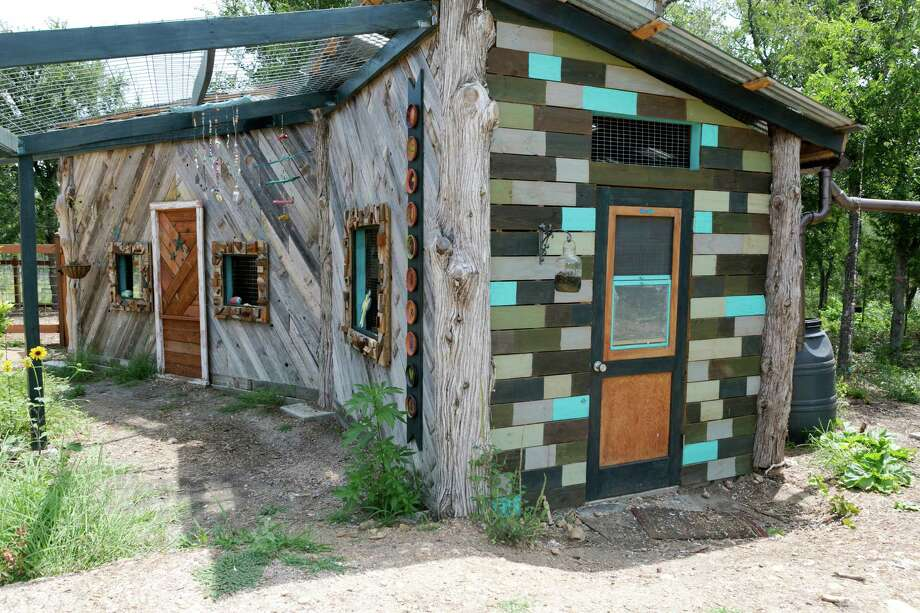 Austin homeless village featuring tiny homes offering bed and