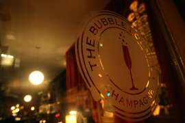 The Bubble Lounge in San Francisco Tuesday evening, December 22, 2009.