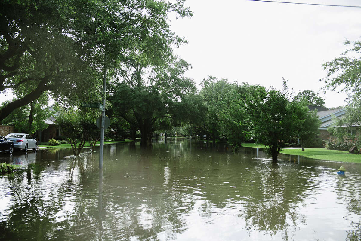 Flooding damage in the Meyerland area. May 26, 2015