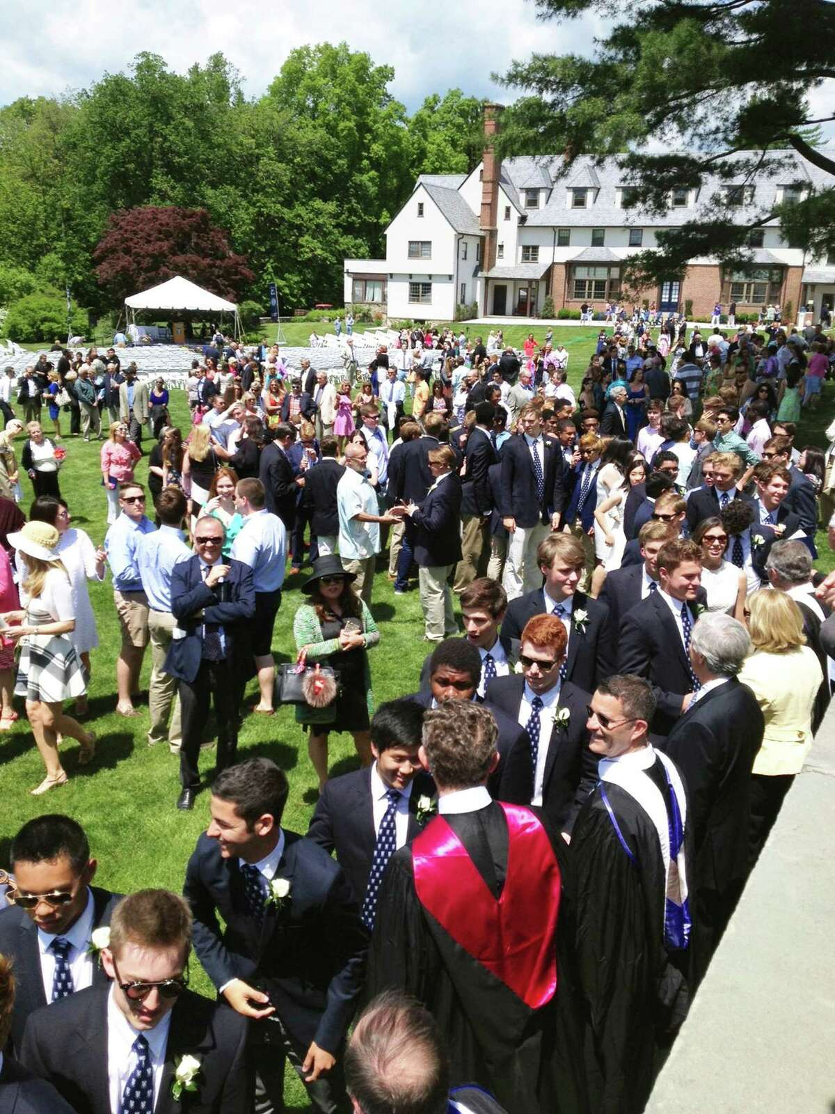 Canterbury School's May 22, 2015 graduation ceremony in New Milford.