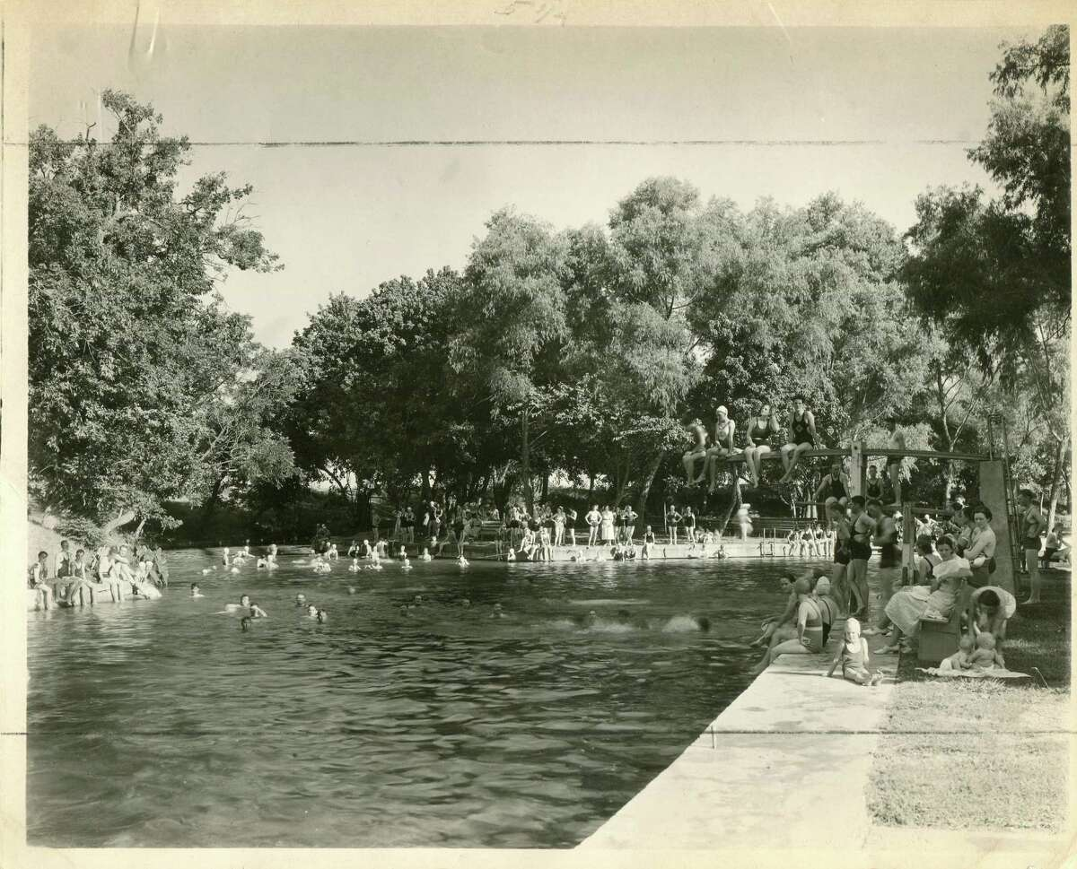Riverside was renamed Sewell Park for the mathematics professor who helped develop the college swimming hole: Dr. S.M.