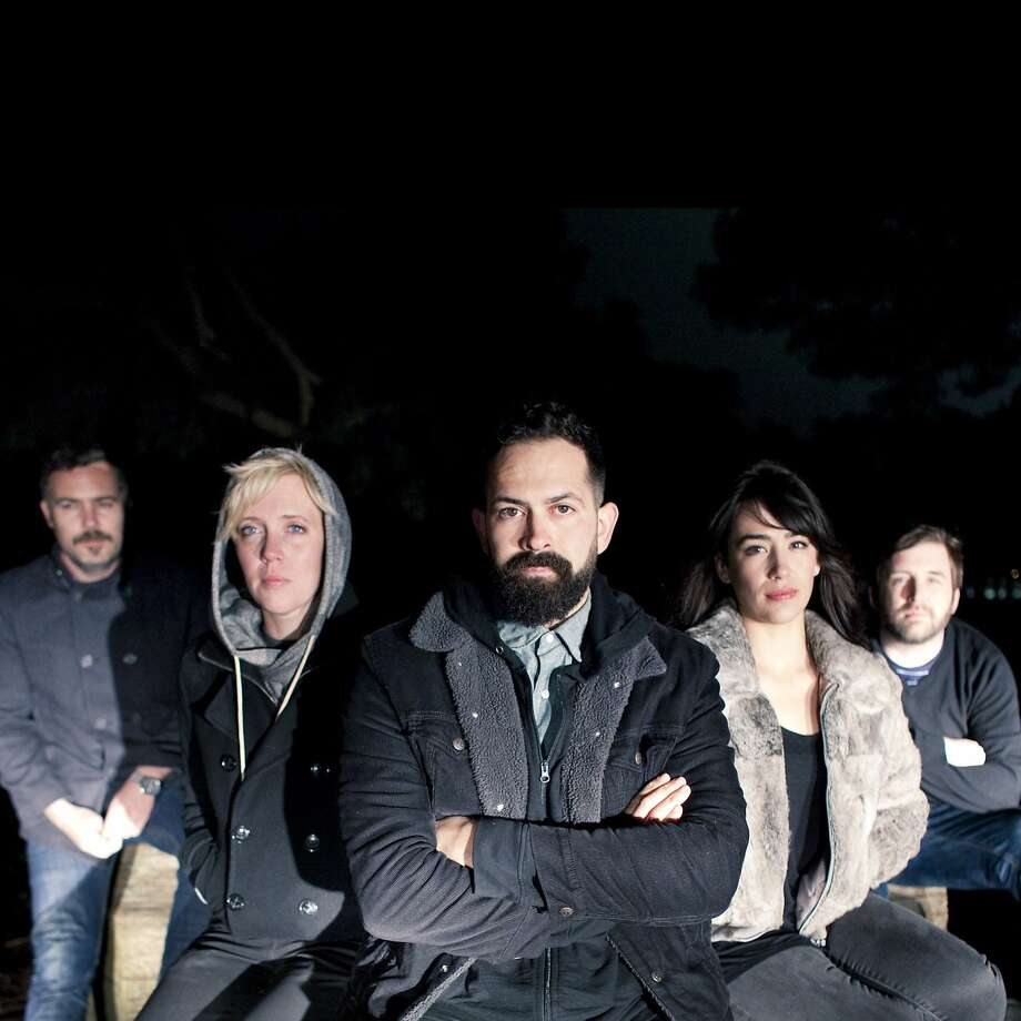 NRVS LVRS: Aaron Hazen (left), Wendy Brents, Andrew Gomez, Bevin Fernandez, Ryan McGee. Photo: Anna Larina