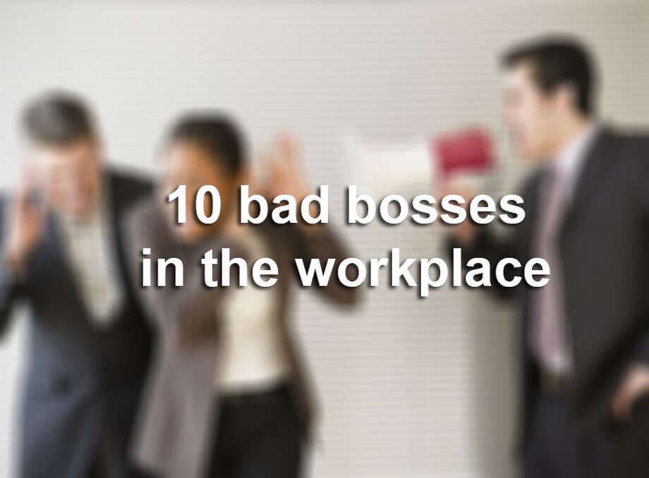 Here are 10 of the worst types of bosses you could have at work.