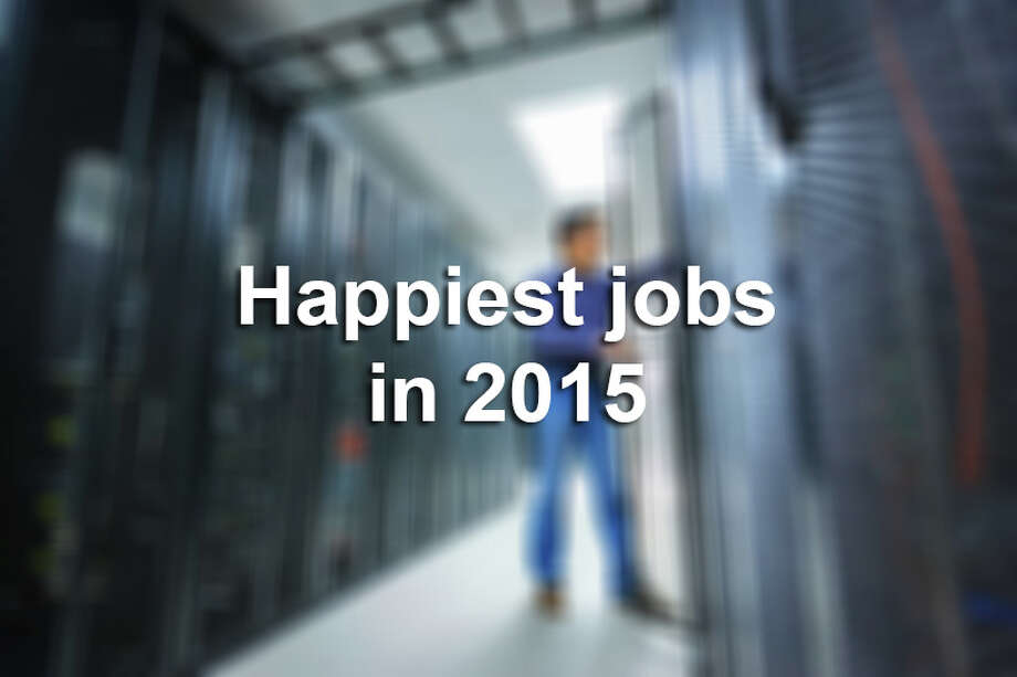 In a study that evaluated 480 titles, CareerBliss and Forbes listed the happiest and unhappiest careers for this year. Those who work with kids or food tend to be happier, while those who work with customers tend to be grumpier.Click through to view the happiest jobs in 2015. Photo: Bjdlzx, File / (c) bjdlzx