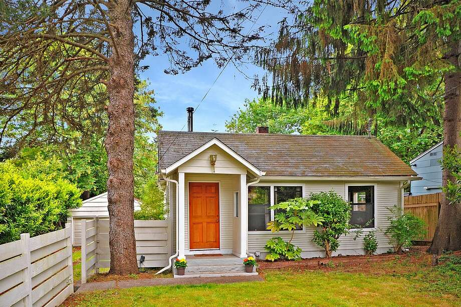 The first home, 11741 40th Ave. N.E., is listed for $400,000. The three bedroom, one bathroom home is in the Meadowbrook neighborhood, and sits on a private 10,000 square-foot lot.   You can see the full listing here. Photo: Vicaso