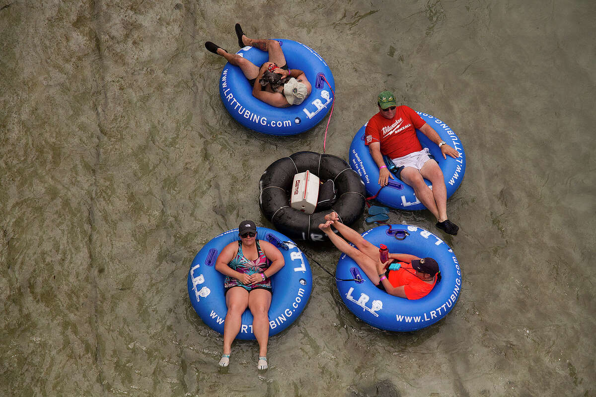New Braunfels, Texas Located in the San Marcos and San Antonio region, this town is an oasis in the hottest months in Texas. The tubing is great and so is the scenery.