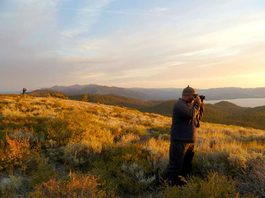 Spaces are still available for the Thru Hikes on the Tahoe Rim Trail, which complete the circuit around Lake Tahoe in two weeks of backpacking. Photo: Mary Bennington, Special To The Chronicle
