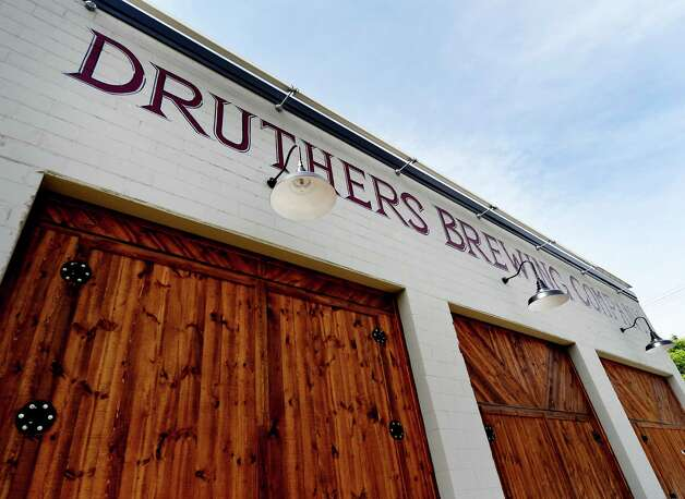 Exterior of Druthers Brewing Company's new facility on Broadway which opened for business Tuesday May 26, 2015, in Albany, N.Y. This is their third location in the region.  (Skip Dickstein/Times Union) Photo: SKIP DICKSTEIN / 00031991A
