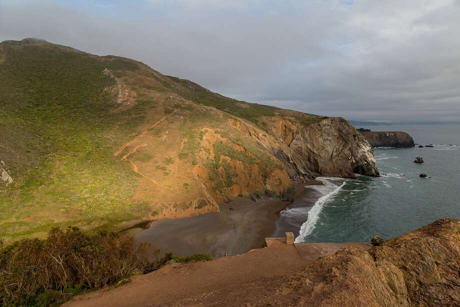Tennessee Beach at the end of the Tennessee Valley trail in Mill Valley, Calif., Thursday, May 21, 2015. On Friday, officials closed the beach and two other parks in the Golden Gate National Recreation Area due to El Niño fears. Photo: Jason Henry, Jason Henry For Medium