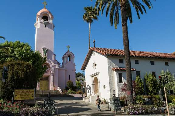 The Mission of Saint Raphael Arcangel in San Rafael, Calif., Tuesday May 19, 2015.