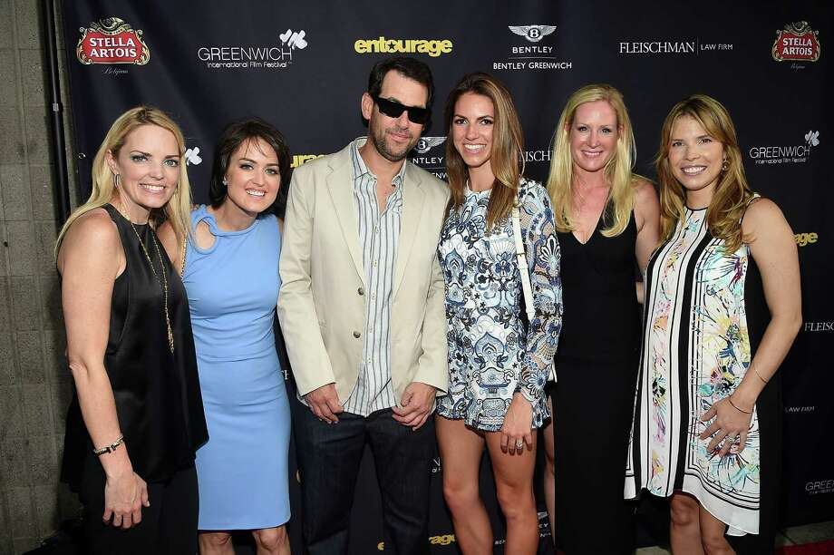 (L-R) Ginger Stickel, Wendy Stapleton Reyes, Doug Ellin, Maddie Diehl, Colleen deVeer and Carina Crain attend the Greenwich Film Festival Special Screening of Entourage on May 26, 2015 in Greenwich, Connecticut. Photo: Andrew H. Walker, Andrew H. Walker/WireImage / 2015 WireImage Getty Images