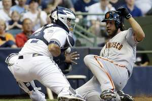 Pence, Duffy, Belt homer as Giants beat Brewers again - Photo