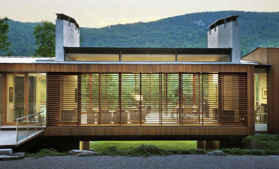 The design for the Bridge House in Kent has proven to be an award-winner. May 2015 Photo: Contributed Photo / The News-Times Contributed