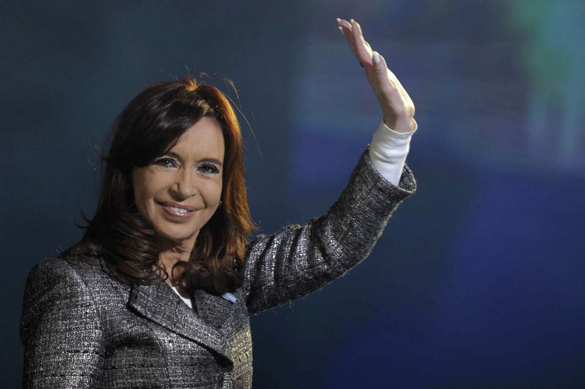 Argentina: President Cristina Fernandez de Kirchner. In office since December 10, 2007.
