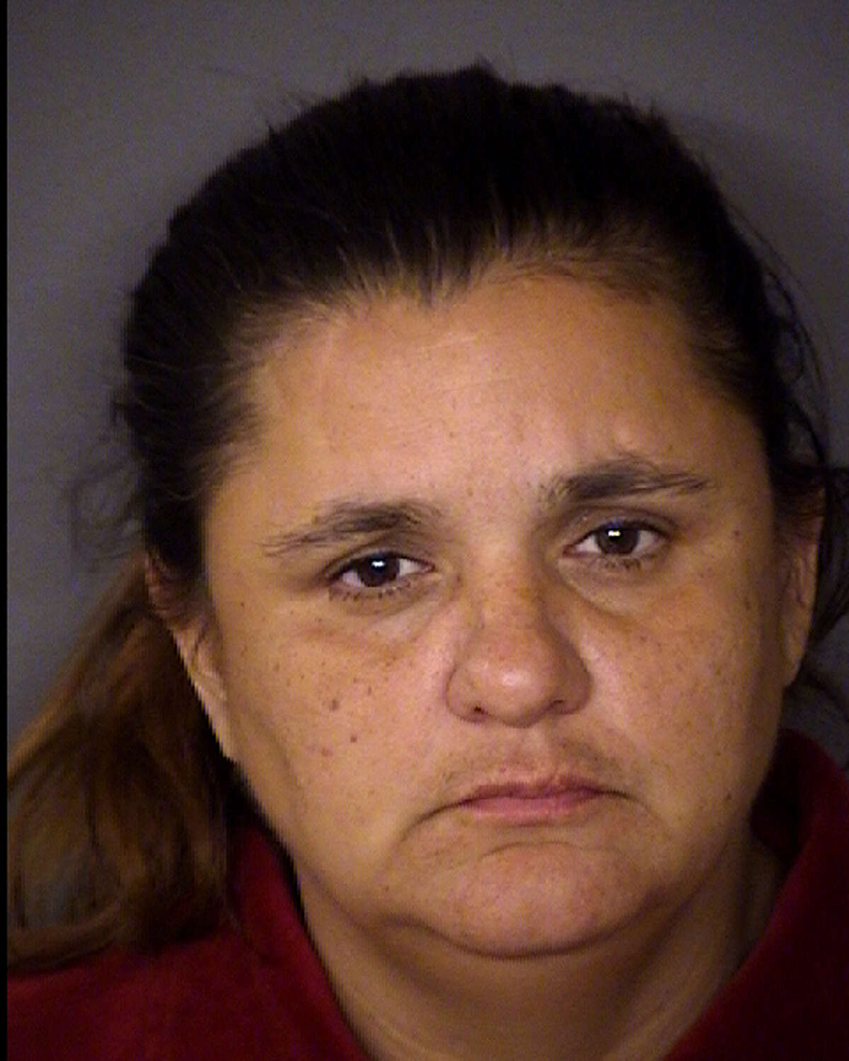 Maria Theresa Montoya, 46, can be seen here in a booking photo for prostitution on July 10, 2014.