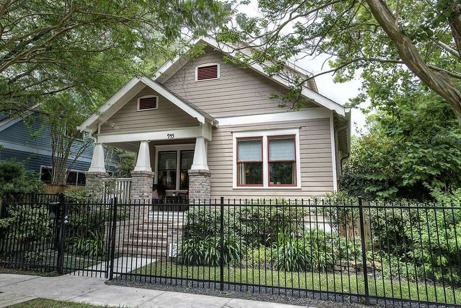 Houston945 Columbia: $985,000 / 4 bedrooms / 3 full and 0 half baths / 3,435 square feet / built in 1920 Photo: Houston Association Of Realtors