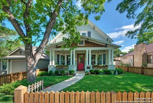 Craftsman style homes on the market in texas houston for Craftsman home builders houston