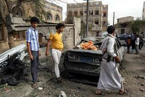 In Yemen, at least 75 people killed in Saudi-led air strikes - Photo