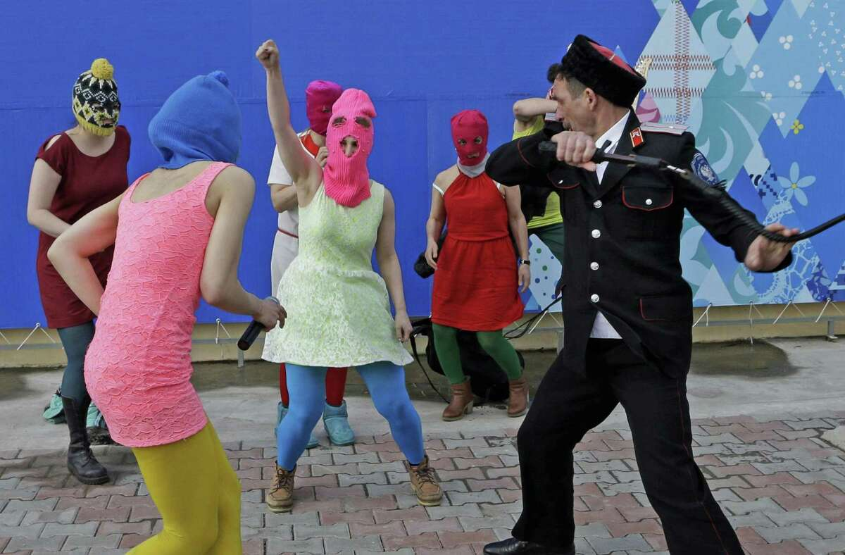 Members of the Russian punk band Pussy Riot will talk about the role of political activism in music and video during a panel discussion set for the first Greenwich International Film Festival which runs June 4 to 7.