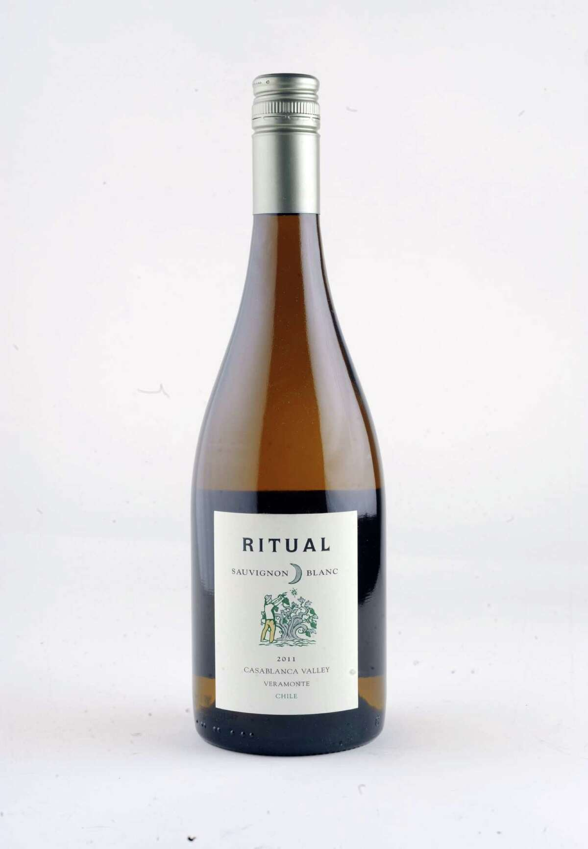 Ritual Sauvignon blanc Chile 2011 on Wednesday Feb. 25, 2015 in Colonie, N.Y. (Michael P. Farrell/Times Union)