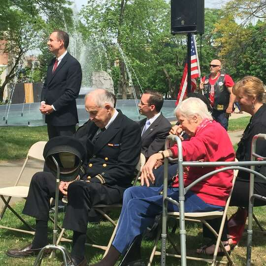 Hometown Heroes event honors Charles Merriam (Submitted photo) ORG XMIT: ZrkxT9MqSGM8ngbm7mA0