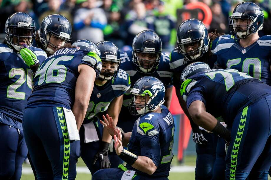 Criticism: He's too shortSeriously, there are still people saying this. As the narrative goes, Russell Wilson's 5-foot-10ish frame prevents him from adequately seeing over the big uglies and finding open passing lanes. Photo: Jordan Stead, Seattlepi.com