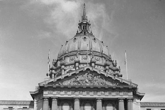 oursfcityhall  SanFrancisco City Hall 1947