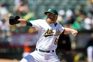 Doolittle makes a striking return to A's - Photo