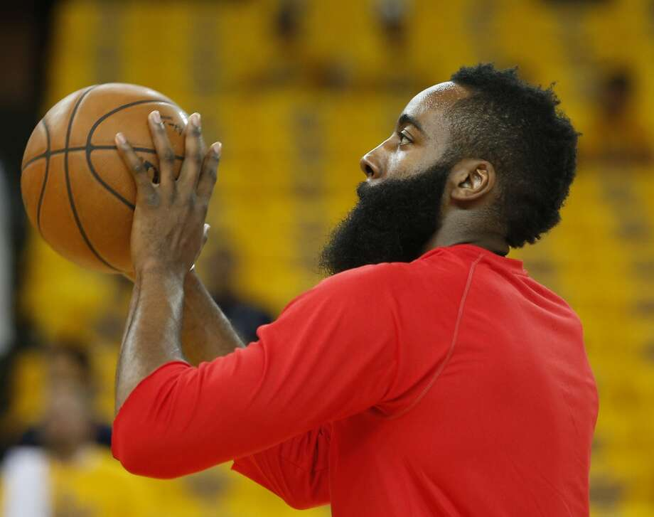 James Harden took the Rockets farther than any Houston pro team has gotten in a decade. That helps make him No. 1 on Jerome Solomon's list of the city's most influential sports figures. Photo: Houston Chronicle