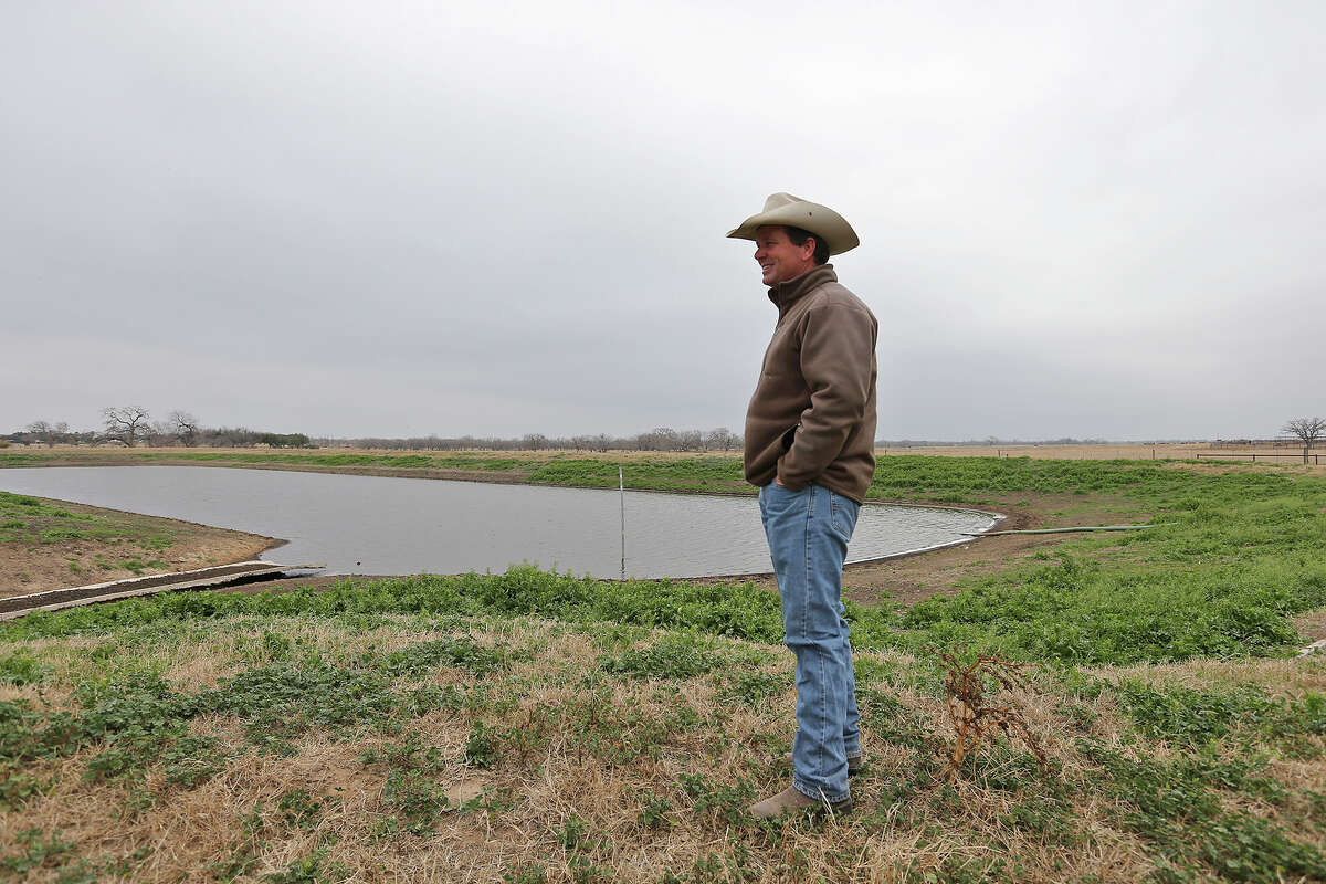 """Jason Peeler of Texana Feeders LTD says of the new EPA rule, """"It kind of gives you a little bit of a helpless feeling as a property owner and as a rancher."""""""