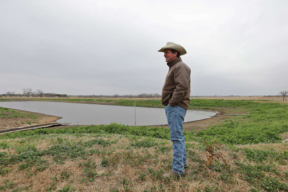 """Jason Peeler of Texana Feeders LTD says of the new EPA rule, """"It kind of gives you a little bit of a helpless feeling as a property owner and as a rancher."""" Photo: Express-News File Photo / © 2014 San Antonio Express-News"""