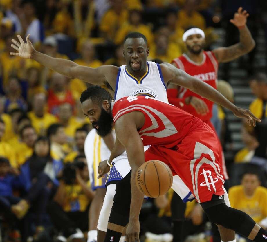 Houston Rockets 3rd Quarter Stats: Houston Rockets Guard James Harden (13) Loses The Ball